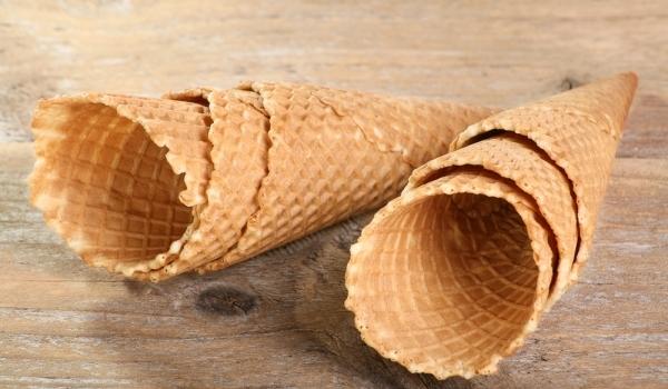 Вафлени кофички и фунийки за сладолед