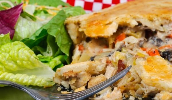 Пирог със зеленчуци