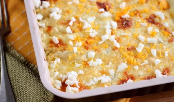 Ориз със сирене на фурна
