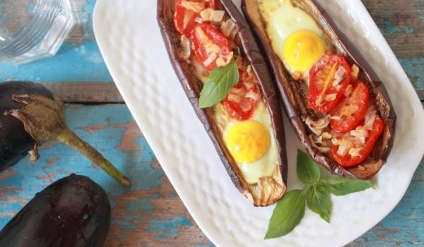 Печени патладжани с яйца