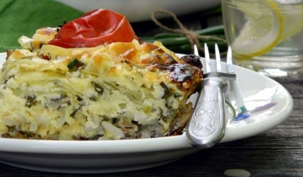 Киселец, лобода и ориз на фурна
