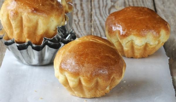 Картофени къпкейкове с крем от пушена сьомга