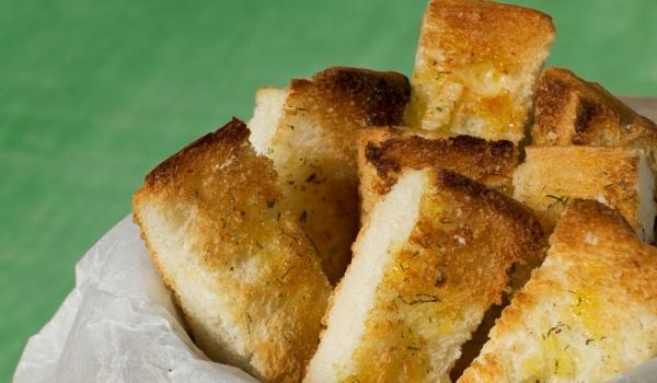 Чеснови хлебни пръчици