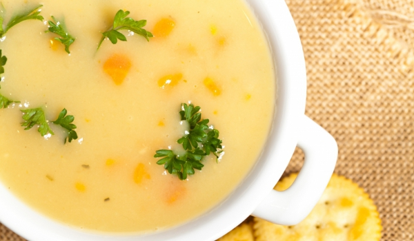 Беларуска млечна супа с моркови