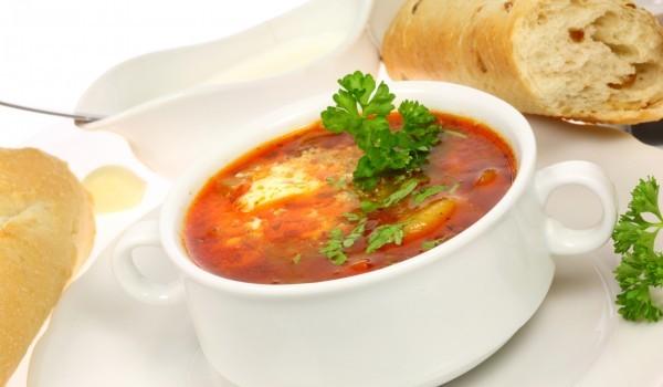 Доматена супа с мляко