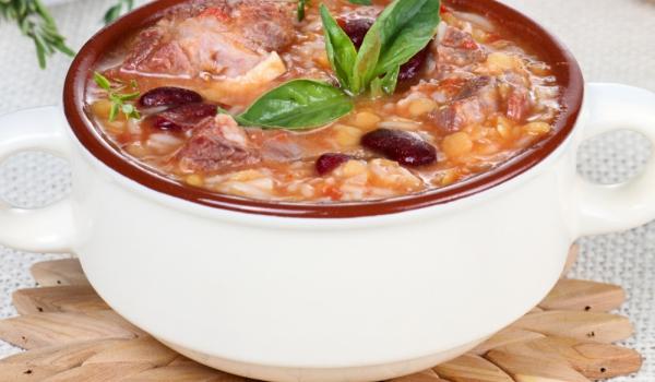 Мароканска супа с нахут и агнешко