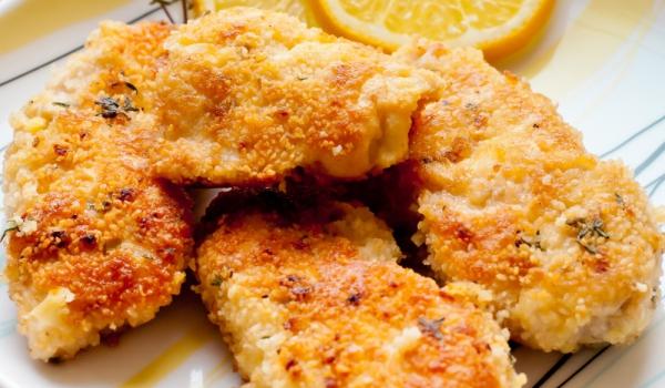 Хрупкави пилешки филенца на фурна