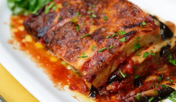 Румънска мусака с агнешко месо