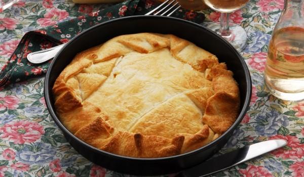 Печена картофена пита