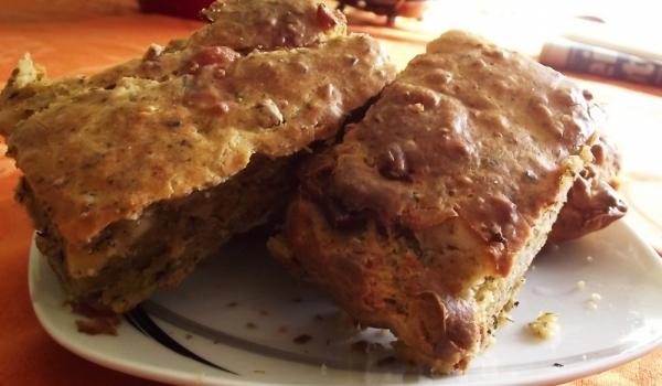 Икономичен солен кекс със сирене